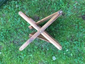 ニトリ木製二段ラック