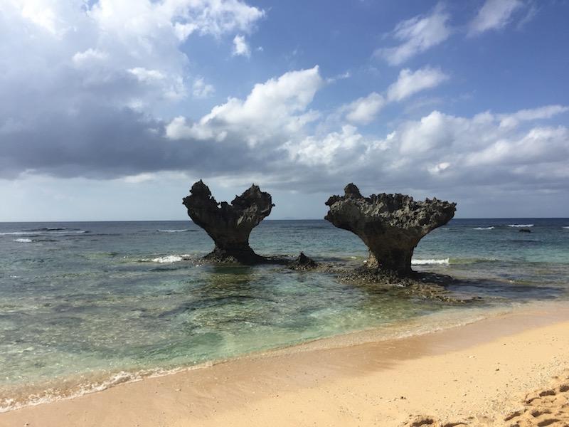 古宇利島ハート岩
