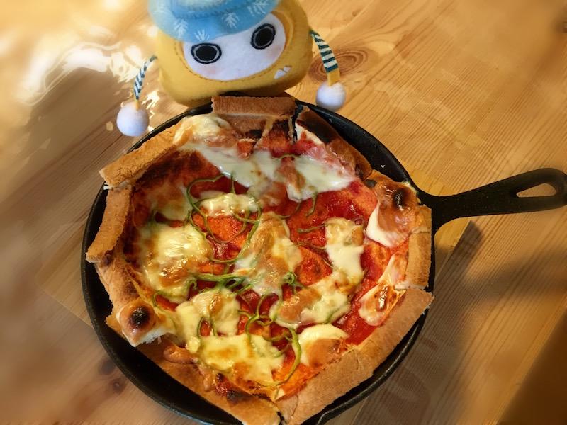 スキレットpizza