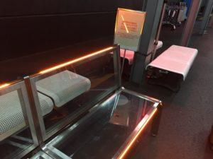 成田空港の椅子