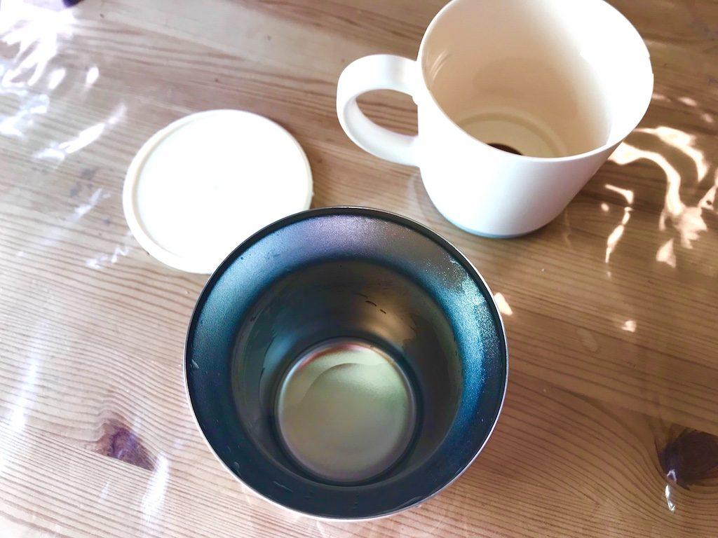 サーモス保温マグカップ